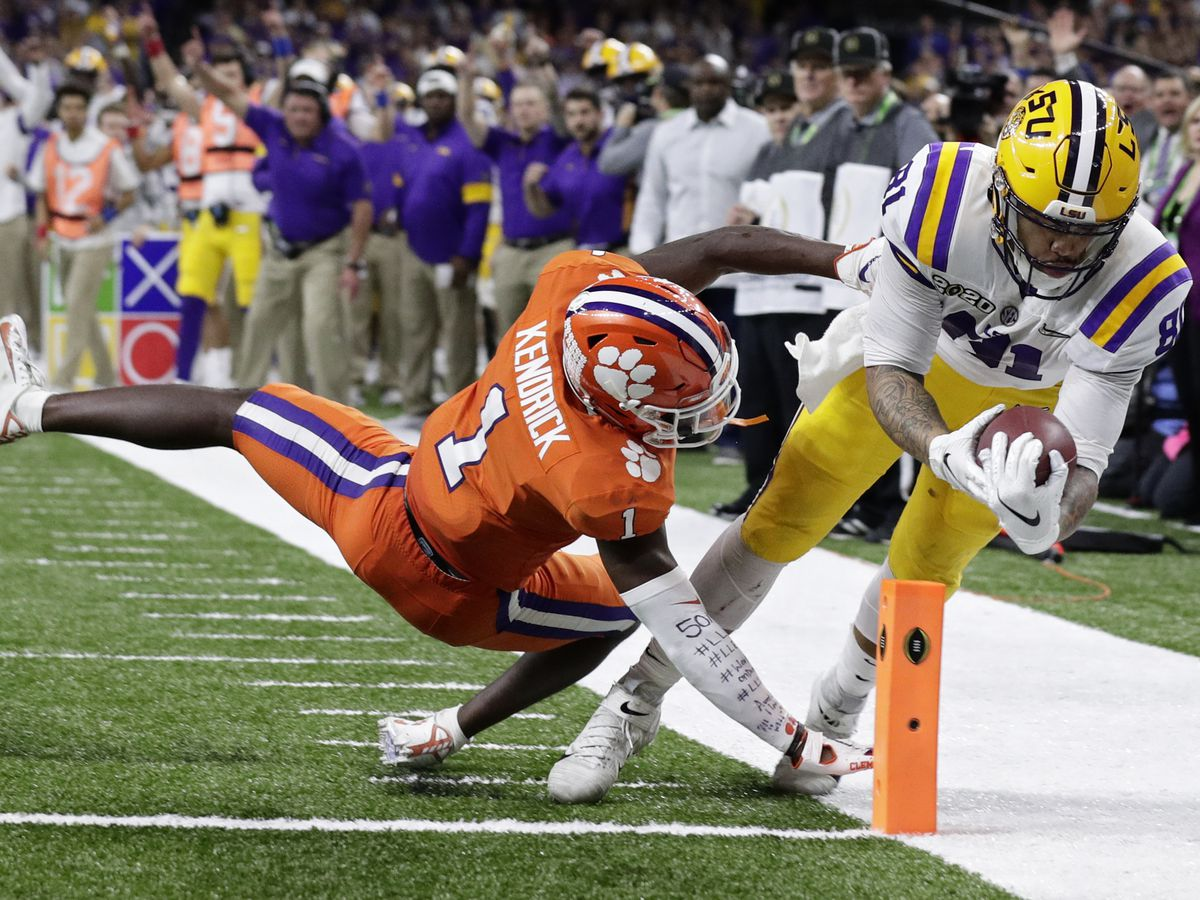 LSU defeats Clemson for National Championship