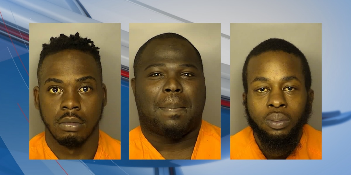 3 arrested after SWAT team executes search warrant at Myrtle Beach home