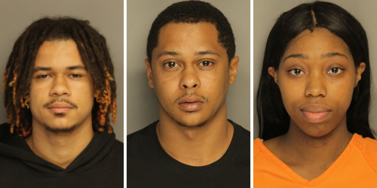 Three facing charges after marijuana, gun found during search at Marion home