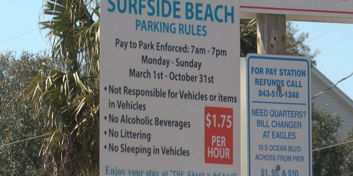 Surfside Beach raise parking meter fees without public's input