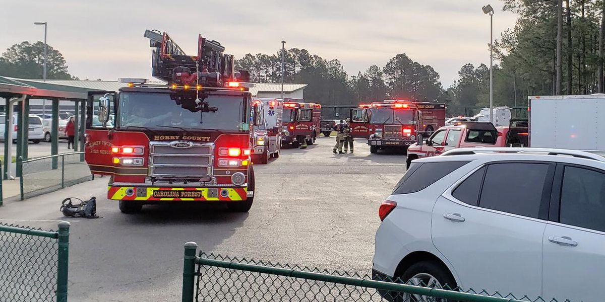Gas odor reports prompts evacuation at Carolina Forest Elementary
