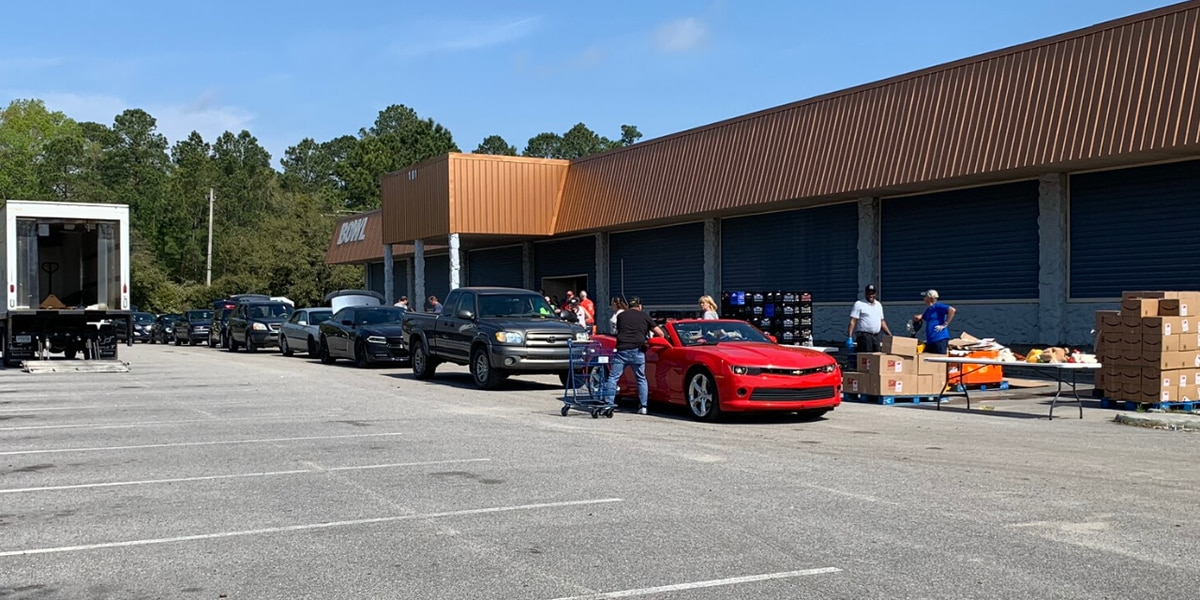 Grand Strand organizations give away free food to hundreds of families during COVID-19 crisis