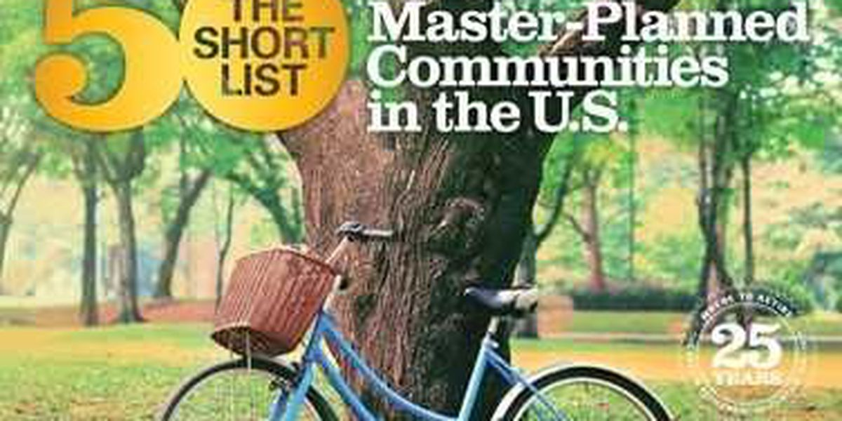 Four South Carolina master-planned communities recognized as best in U.S.