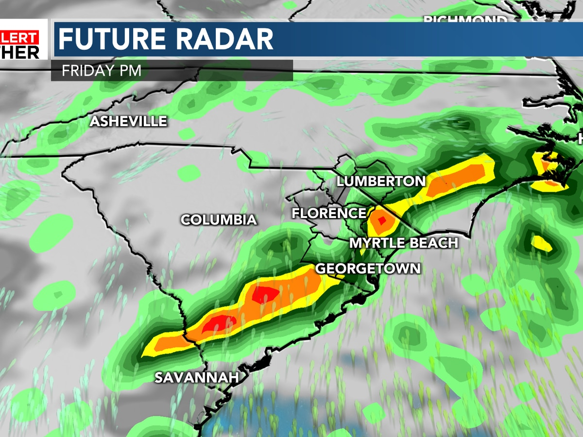 FIRST ALERT: Increasing rain chances for the end of the week
