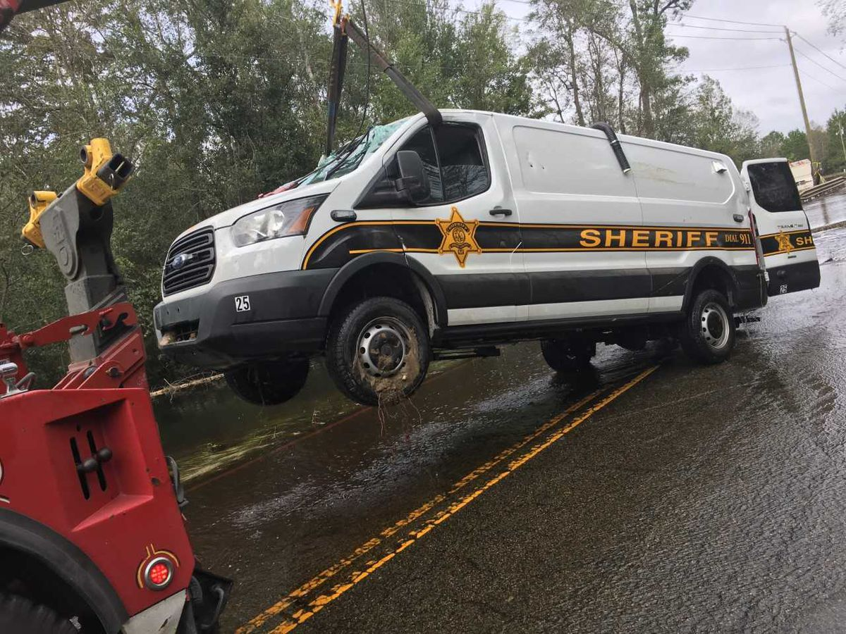 SCDNR releases photos of sheriff's office van involved in drowning incident