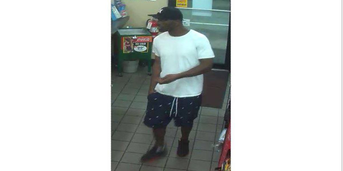 Person of interest sought in strong armed robbery incident at convenience store