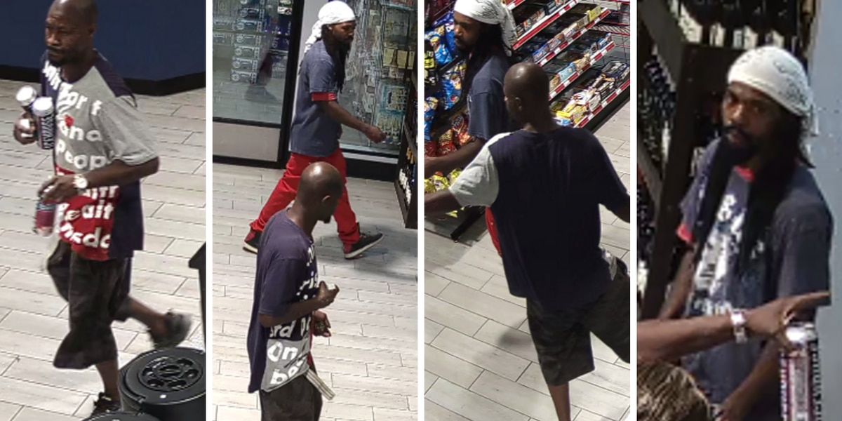Surveillance pictures show men wanted for questioning in Florence shooting