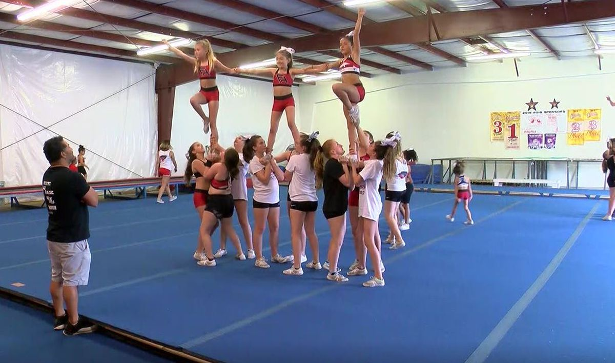 Compeive Cheer To Myrtle Beach