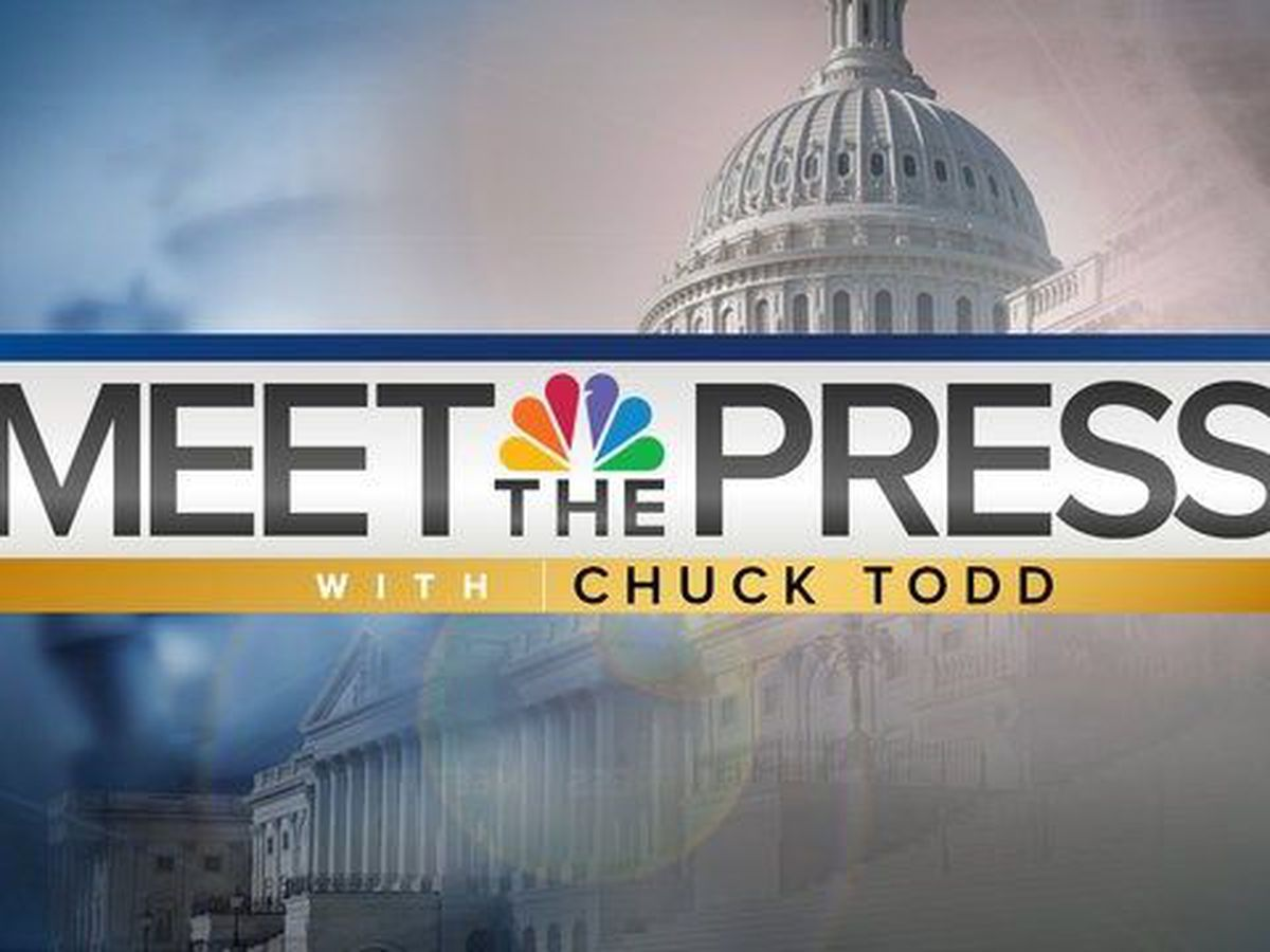 NBC airing Meet The Press an hour later on Sunday, May 28, 2017