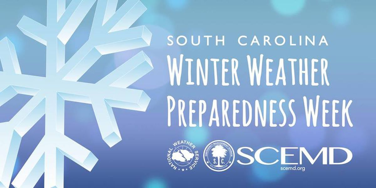 SC Winter Weather Prep Week offers tips on severe winter weather