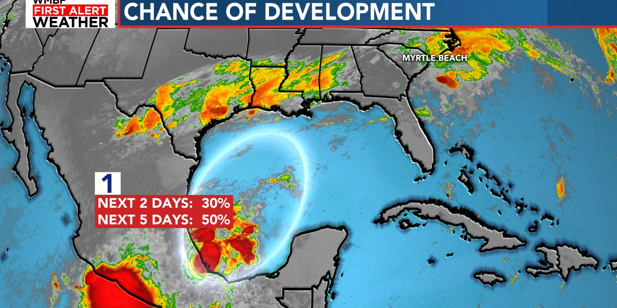 FIRST ALERT: Tropical development possible in the Gulf of Mexico