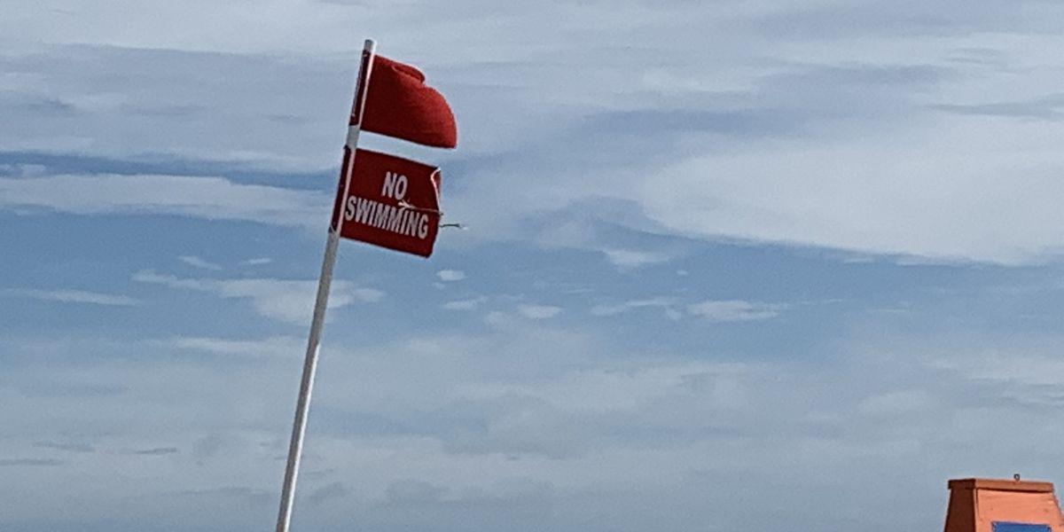 Myrtle Beach, North Myrtle Beach under 'Double Red Flag' warning due to Isaias