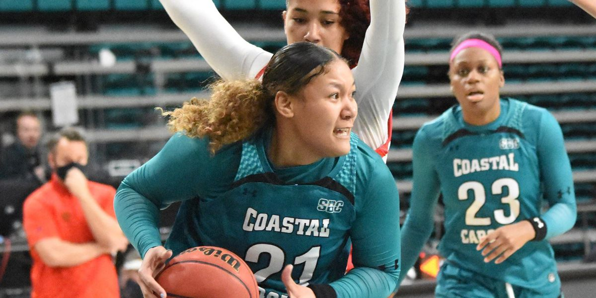 South Alabama scores come-from-behind win over Coastal Carolina, 61-56