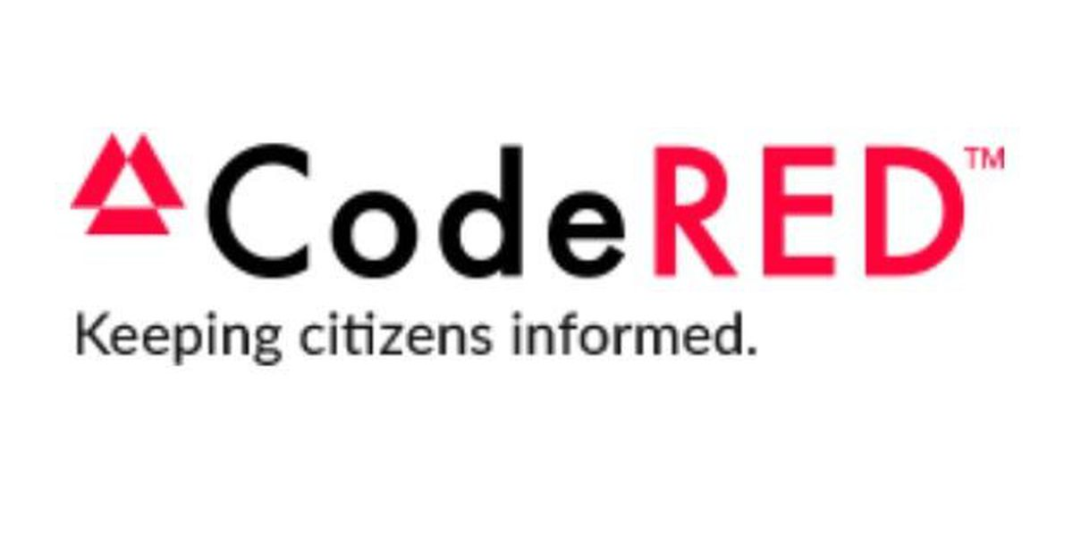 Register for the CodeRed emergency notification system
