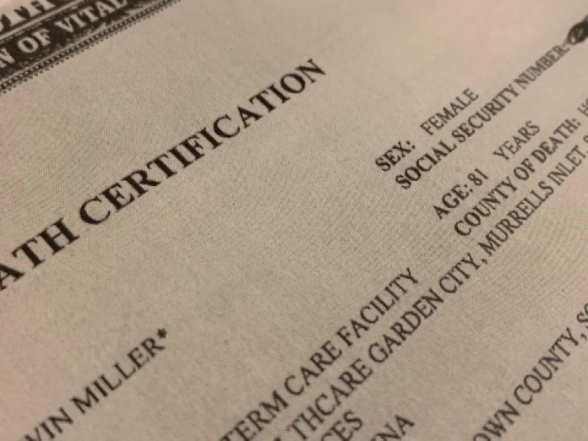 DHEC experiencing delays with death certificates due to system glitch, officials say