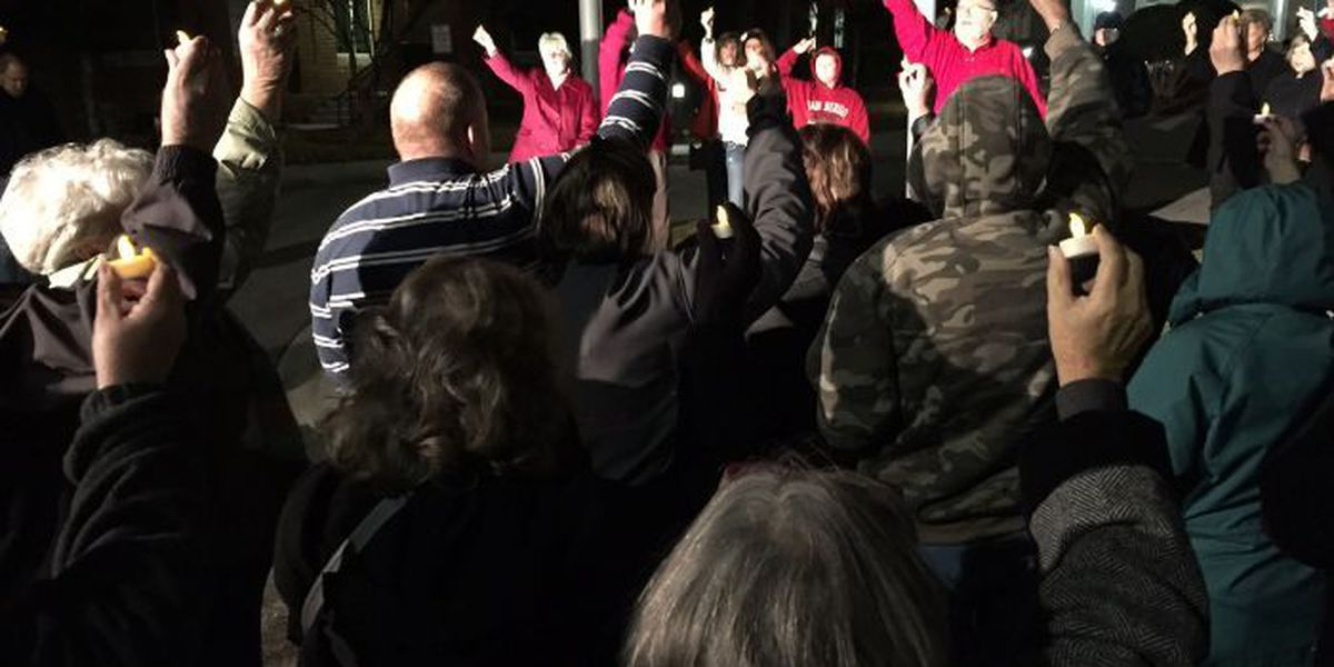 Family of Heather Sims holds prayer vigil, reads letter from Heather