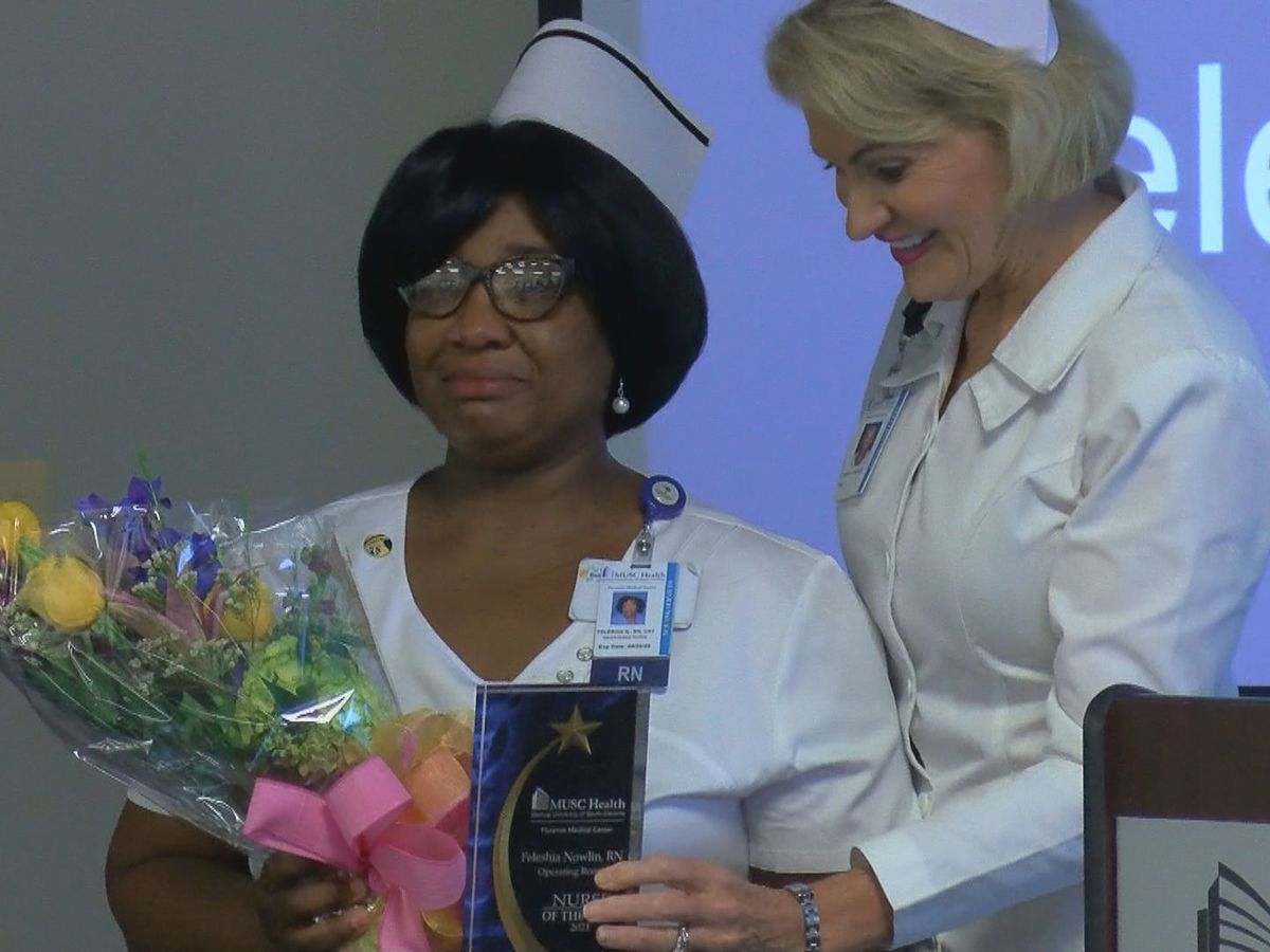 MUSC Health Florence presents Nurse of the Year award