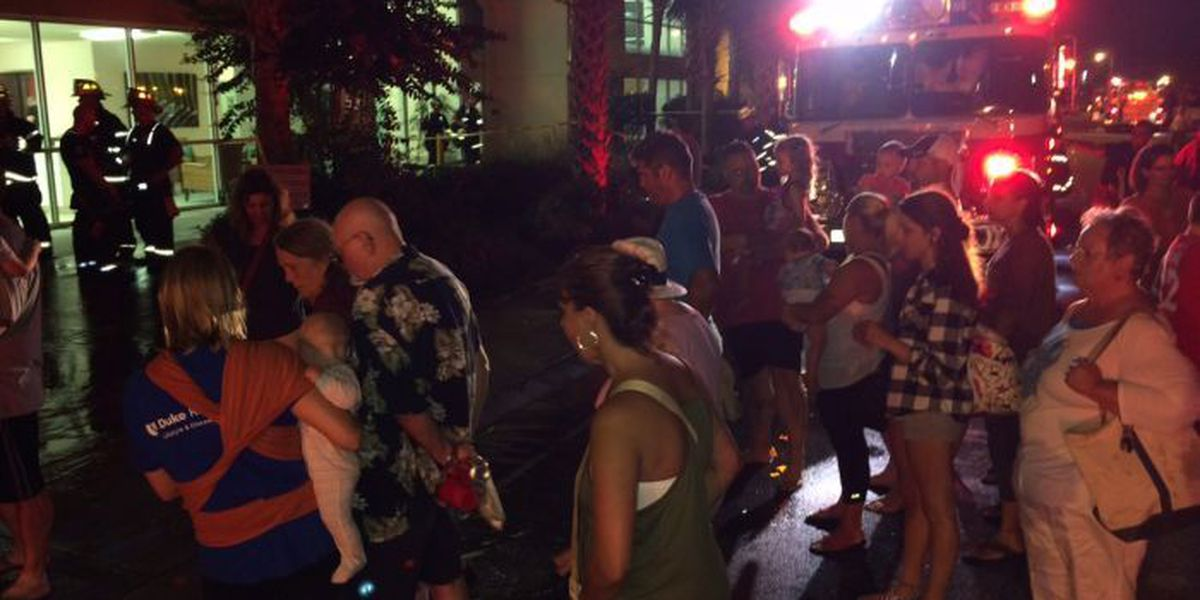 Dryer fire causes evacuations at Crescent Keyes in NMB