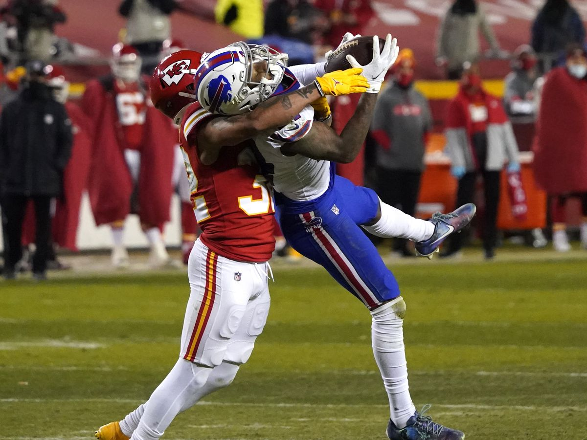 Reigning champion Chiefs dump Bills 38-24 in AFC title game