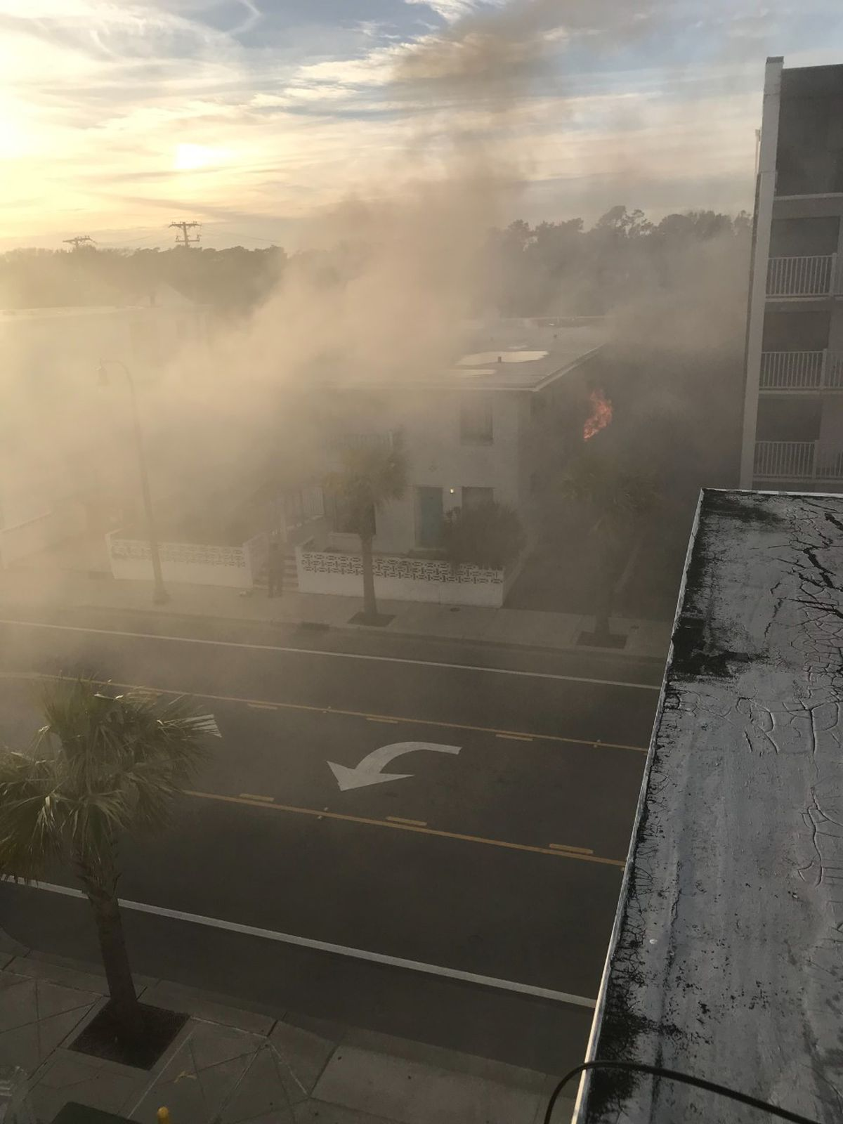 Crews Douse Afternoon Blaze At Coral Sands Motel In Myrtle