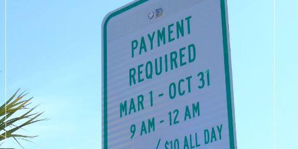 Parking meter season returns to Myrtle Beach