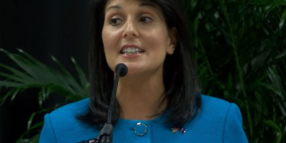 Gov. Haley gets down to business in Florence