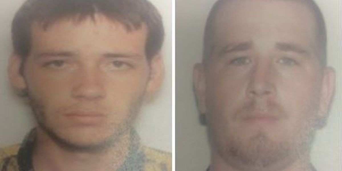 2 men arrested minutes after armed robbery reported in Darlington