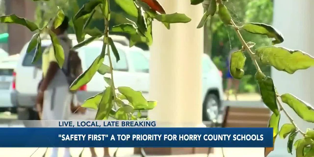 'Safety first' a top priority for Horry County Schools
