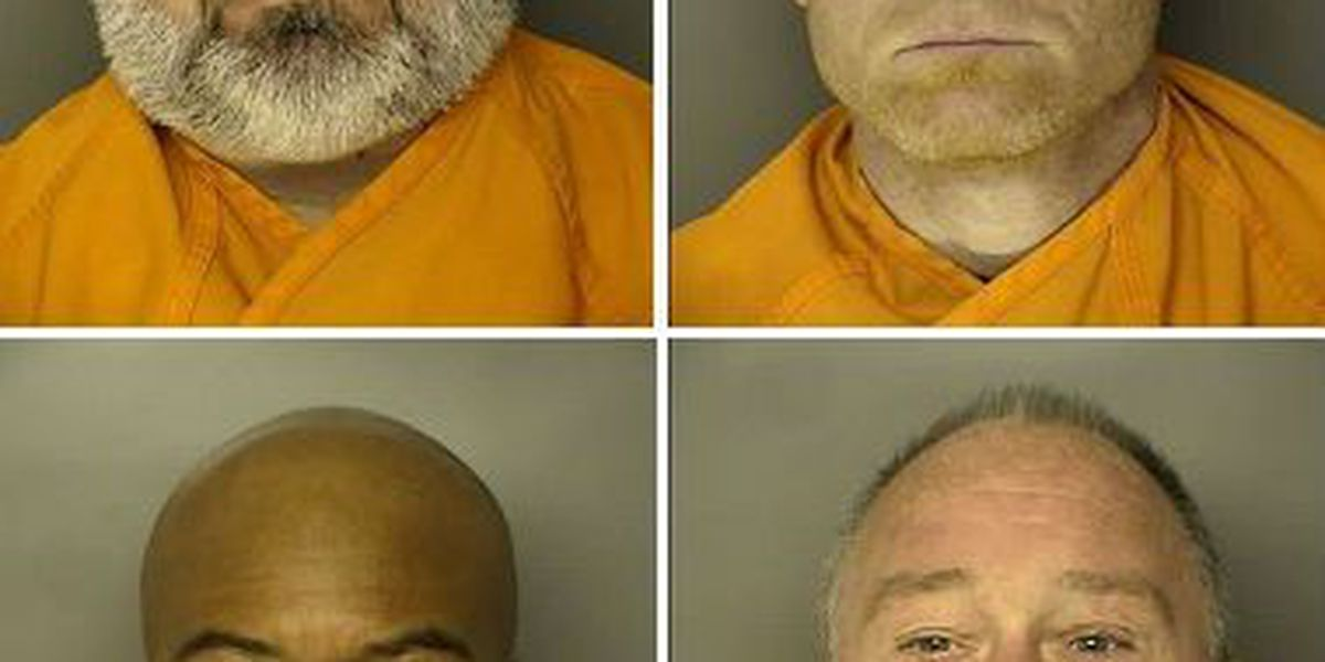 Bond granted for four former HCPD officers facing misconduct charges