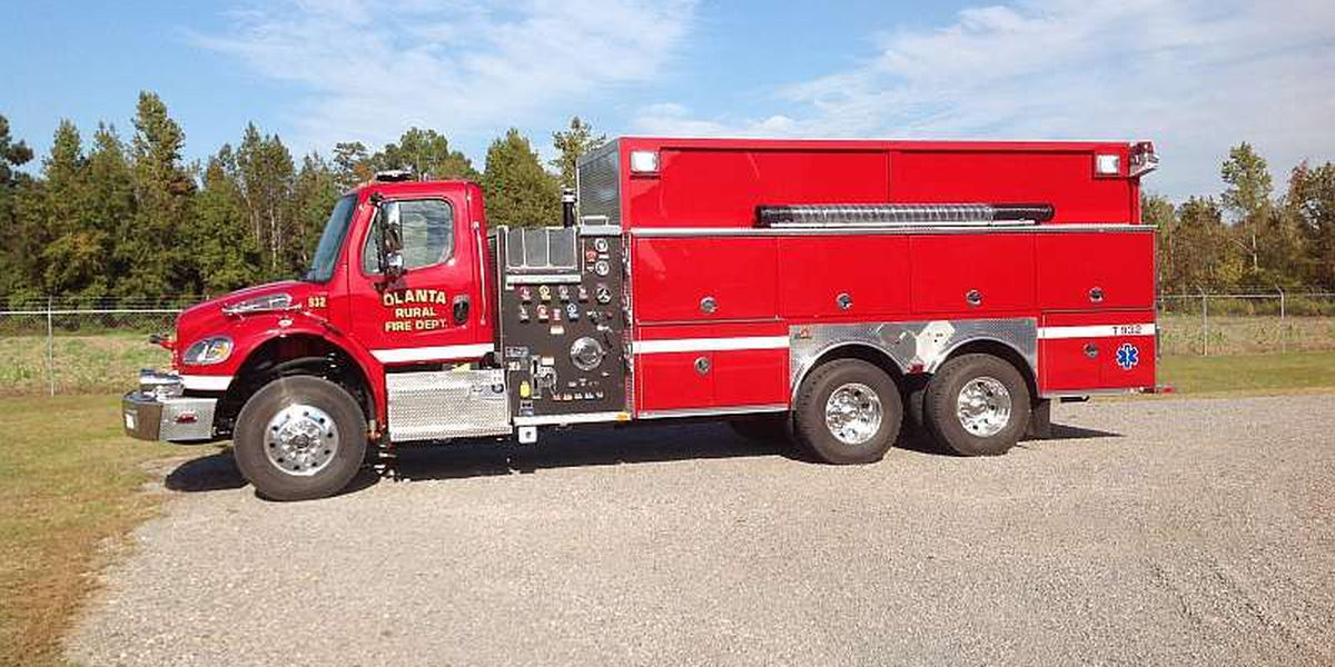 Olanta Fire Department gets 2 new tankers