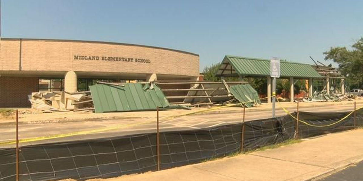 Asbestos found at local school not a concern right now