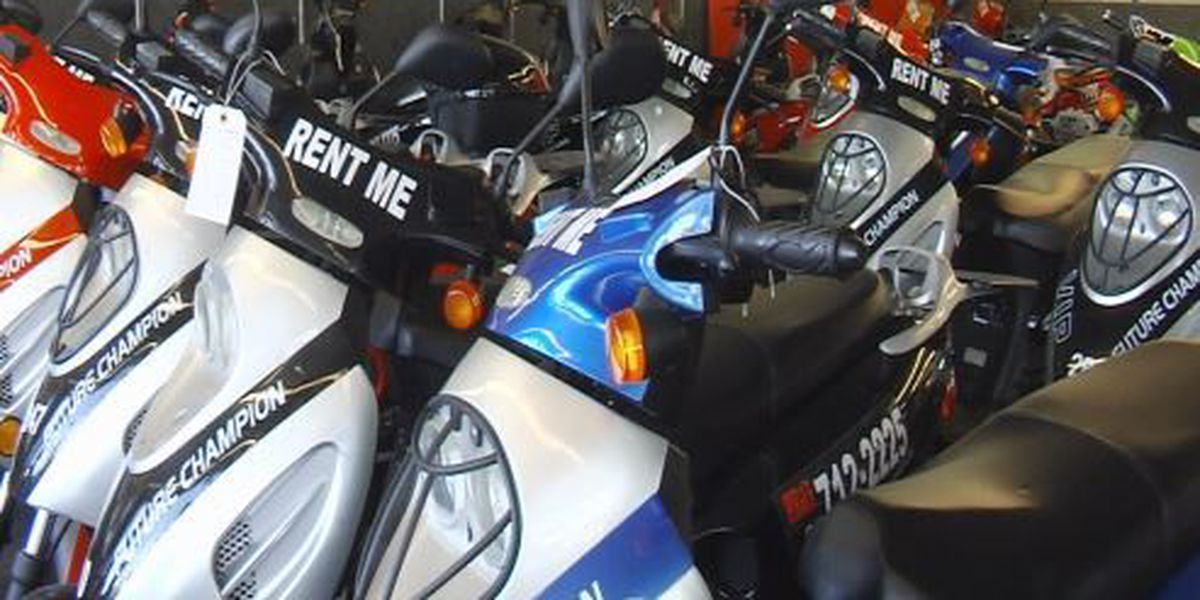 Moped rental company gets proactive against reckless driving