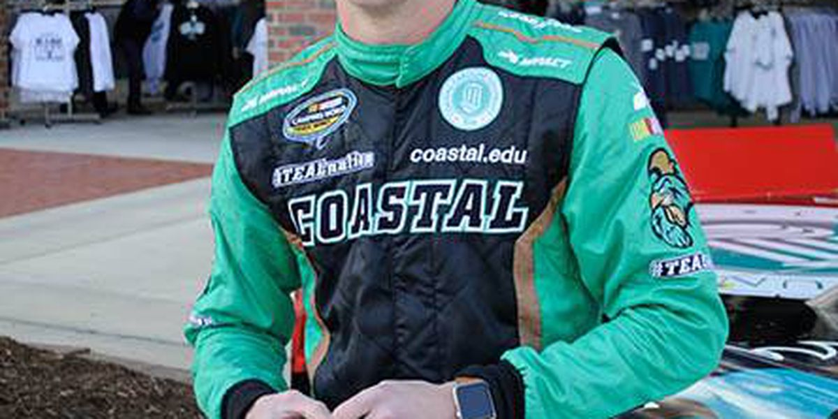CCU student Brandon Brown to race in Cellular 250 at Iowa Speedway Saturday