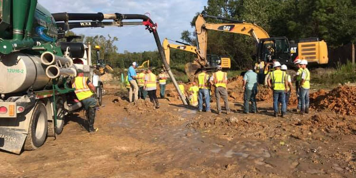Burn ban lifted after Conway water main repaired following break