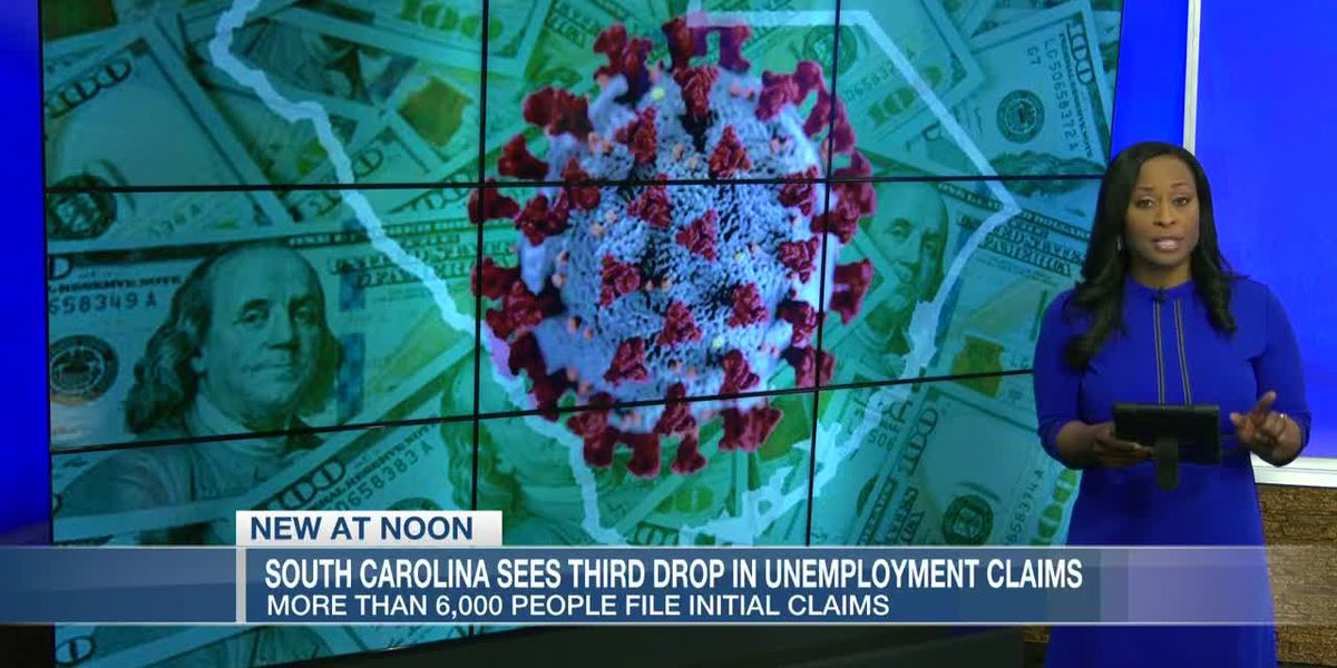 VIDEO: SC reports 3rd consecutive drop in weekly new unemployment claims