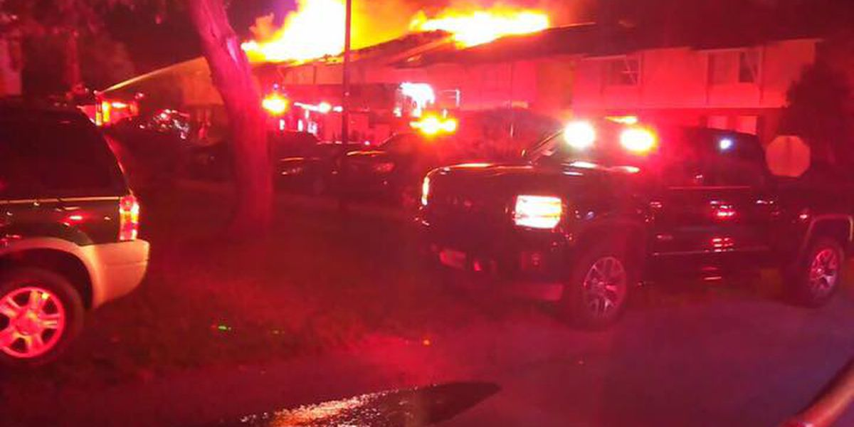 Red Cross assisting 44 people after two-building apartment fire in West Florence