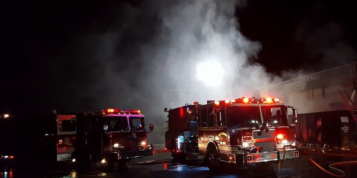 West Florence Fire-Rescue responds to large bin fire at local motel
