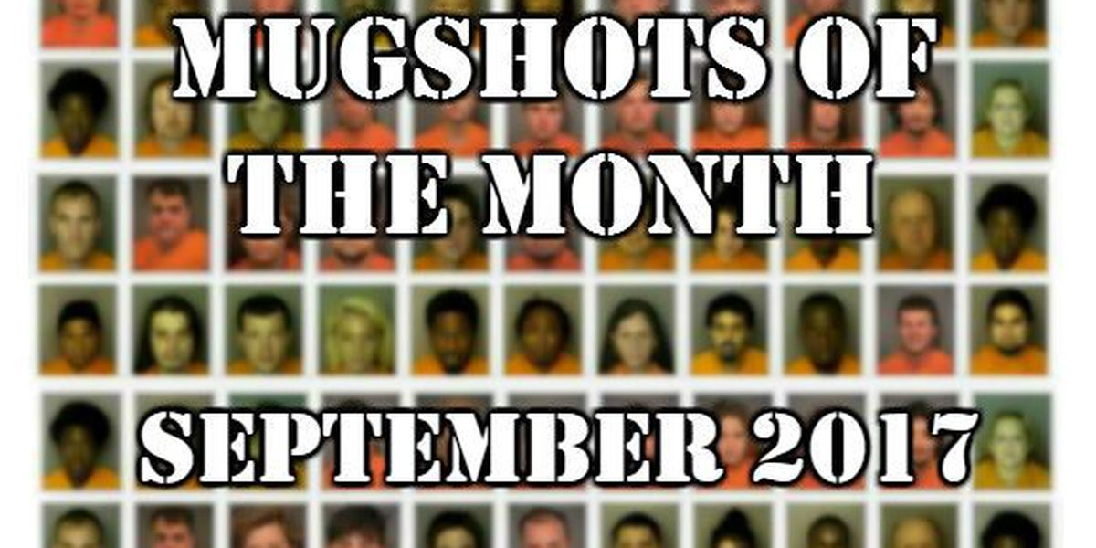Mugshots of the Month - September 2017