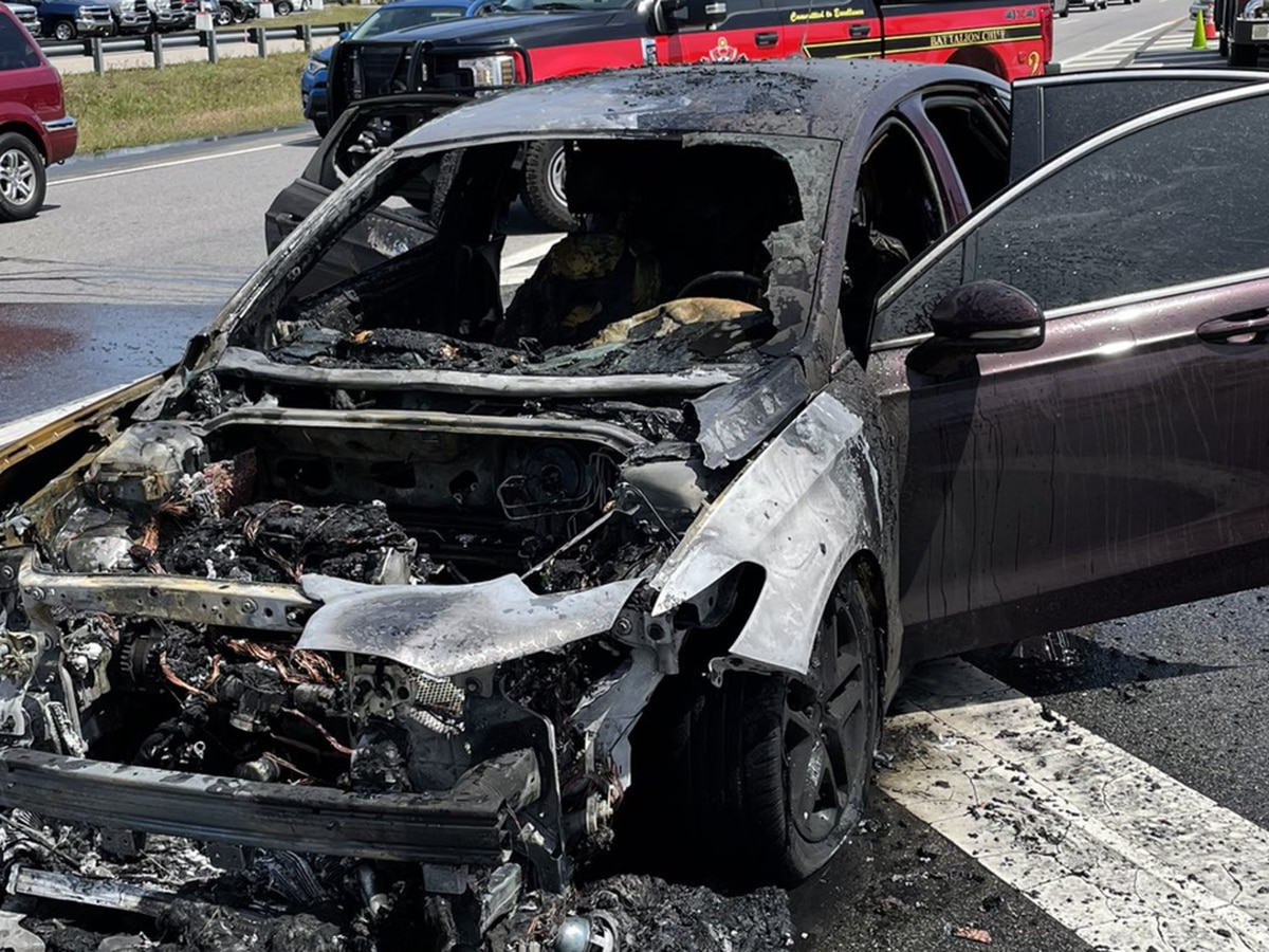Lanes reopen on Highway 501 after vehicle fire causes delays