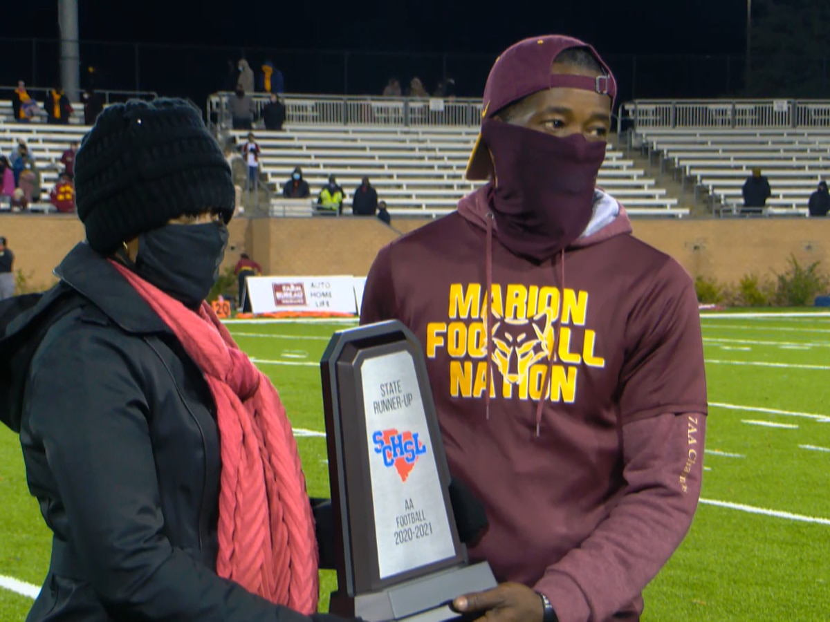 Marion falls short to Abbeville in Class 2A state final, 37-6