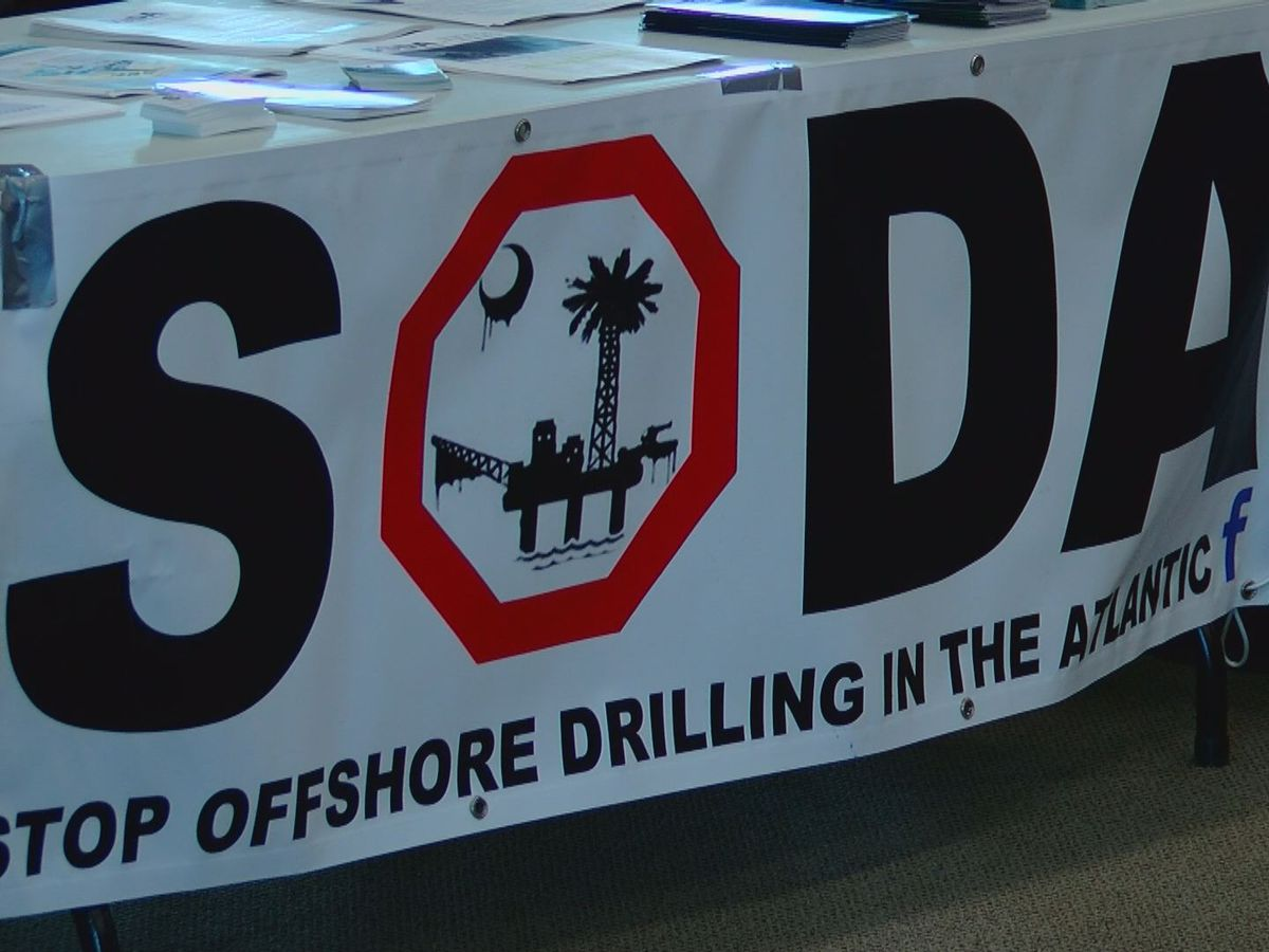 Local group holds meeting to discuss seismic testing and offshore drilling