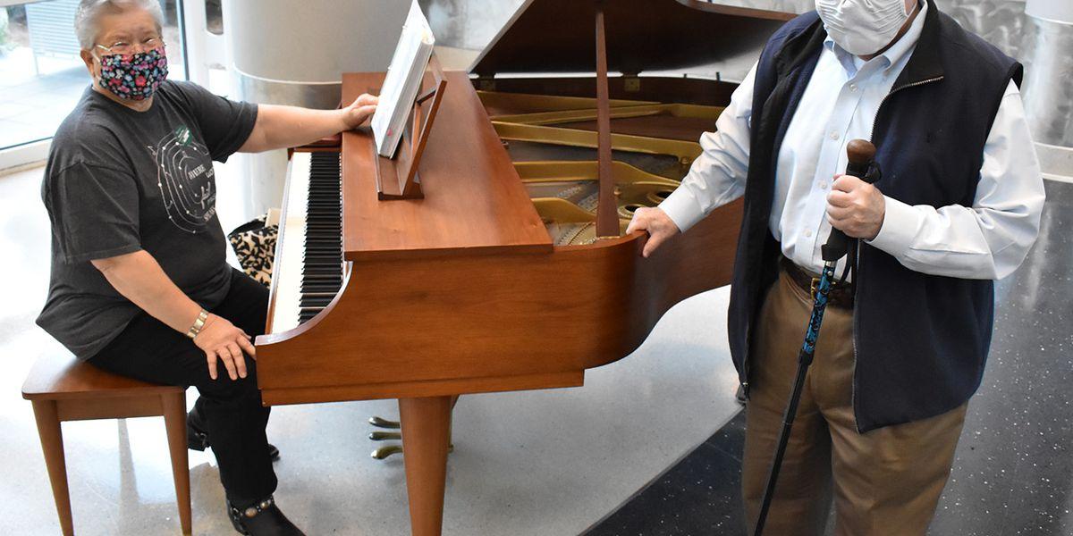 Grand donation: Florence man donates his baby grand piano to hospital