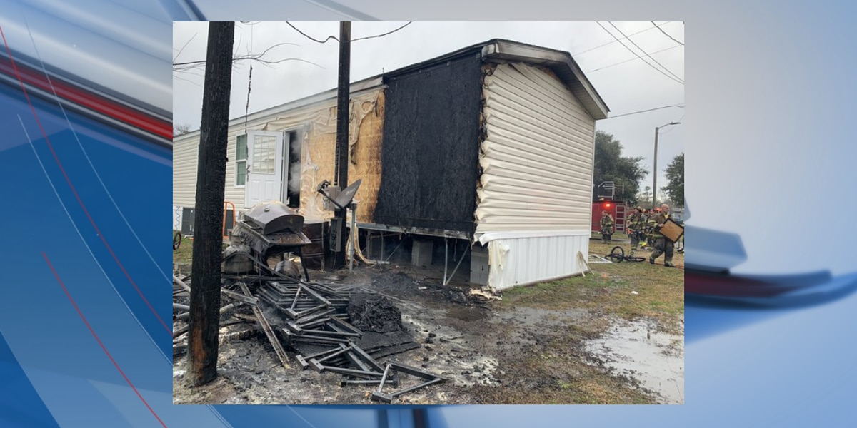1 injured after structure fire in Myrtle Beach, crews say