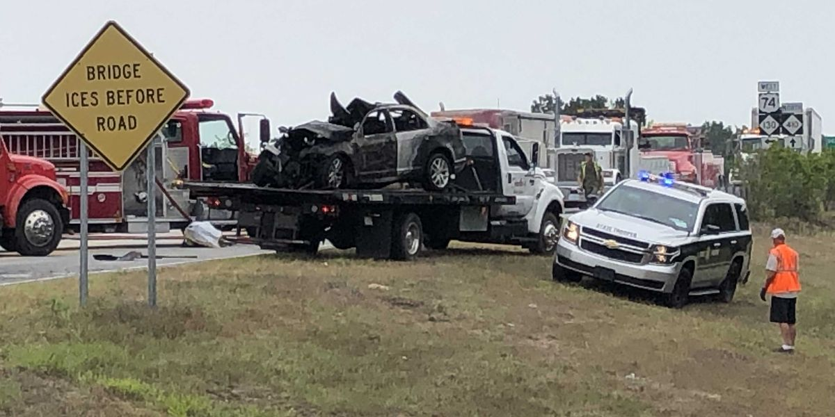 Father, daughter die after vehicle collides with tractor-trailer in Columbus Co.
