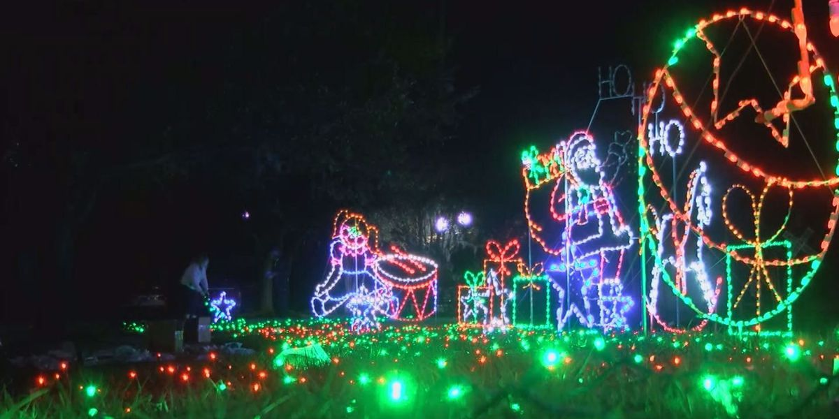 Conway's first Celebration of Lights show a success