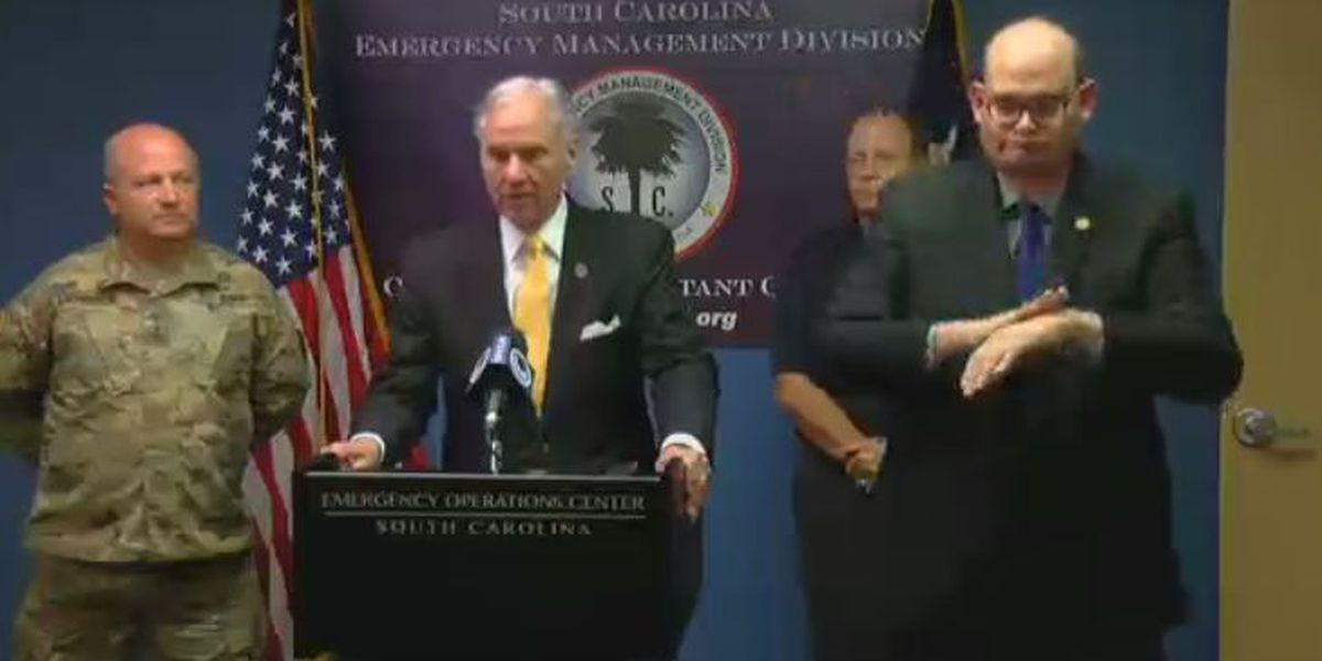 WATCH LIVE: Gov. Henry McMaster, SCEMD to update latest on Irma at 10 a.m. news conference