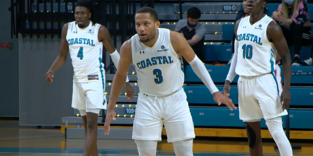 CCU guard DeVante' Jones named Sun Belt Player of the Week