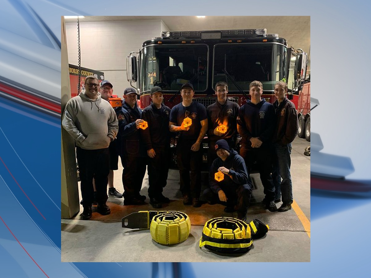 Horry County firefighters testing battery-powered road flares