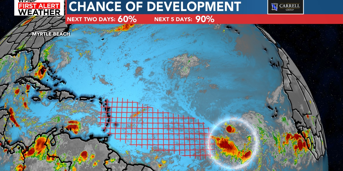 FIRST ALERT: Tropical development likely within next few days