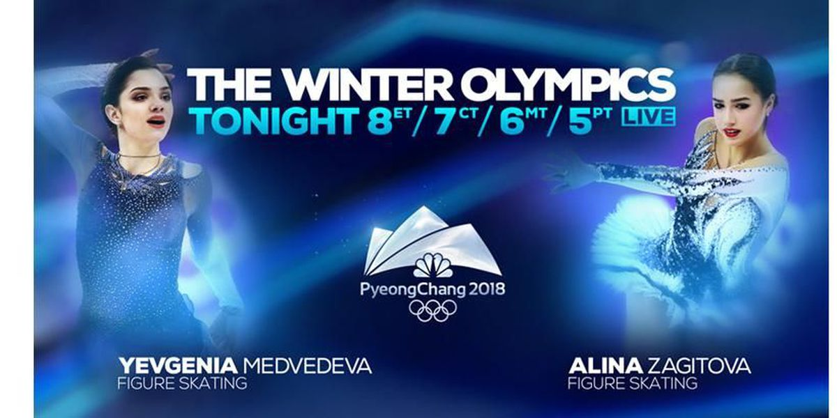 Winter Olympics schedule for Thursday, February 22